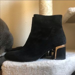 DKNY Suede Ankle Boots size 7